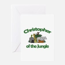 Christopher of the Jungle Greeting Card
