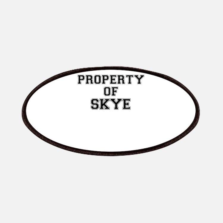 Property of SKYE Patch