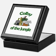Colby of the Jungle  Keepsake Box
