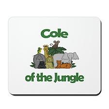 Cole of the Jungle Mousepad