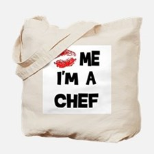 'Kiss Me I'm A Chef Tote Bag