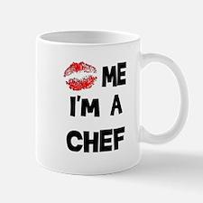 'Kiss Me I'm A Chef Mug