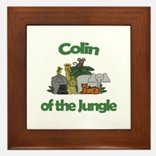 Colin of the Jungle  Framed Tile