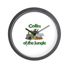 Colin of the Jungle  Wall Clock