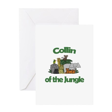 Collin of the Jungle Greeting Card