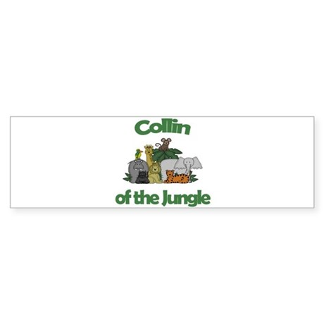 Collin of the Jungle Bumper Sticker