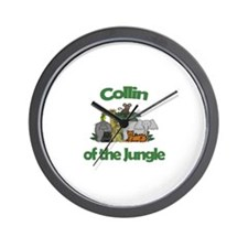 Collin of the Jungle  Wall Clock