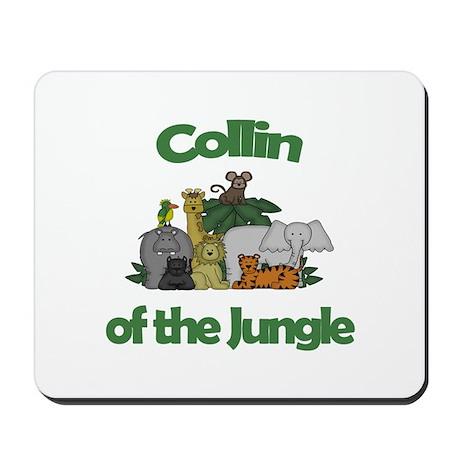 Collin of the Jungle Mousepad