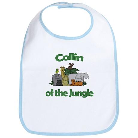 Collin of the Jungle Bib