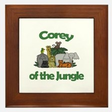 Corey of the Jungle  Framed Tile