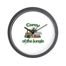 Corey of the Jungle  Wall Clock