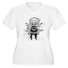 samurai horse man T-Shirt