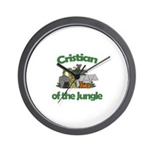 Cristian of the Jungle  Wall Clock