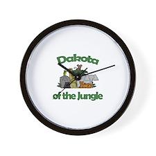 Dakota of the Jungle  Wall Clock