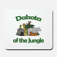 Dakota of the Jungle Mousepad
