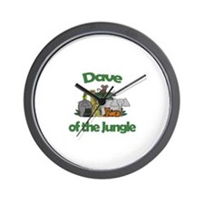 Dave of the Jungle  Wall Clock