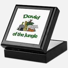 David of the Jungle  Keepsake Box