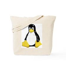 Linux Tux Mascot Tote Bag