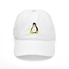 Linux Tux Mascot Baseball Cap