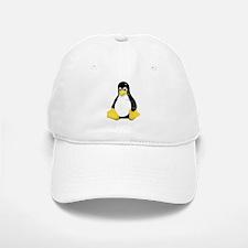 Linux Tux Mascot Cap