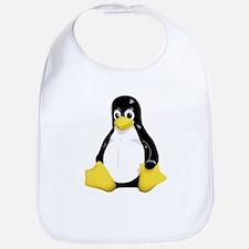 Linux Tux Mascot Bib