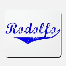 Rodolfo Vintage (Blue) Mousepad
