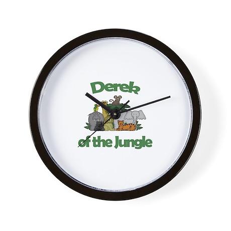 Derek of the Jungle Wall Clock