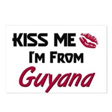 Kiss Me I'm from Guyana Postcards (Package of 8)
