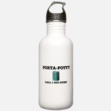 PORTA-POTTY, CALL 1-80 Water Bottle