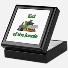 Ed of the Jungle  Keepsake Box