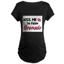 Kiss Me I'm from Grenada T-Shirt