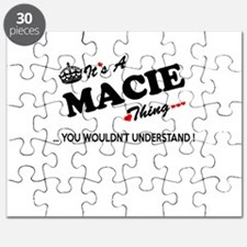 MACIE thing, you wouldn't understand Puzzle