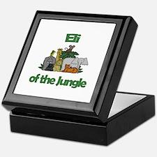 Eli of the Jungle  Keepsake Box