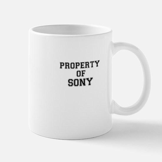 Property of SONY Mugs