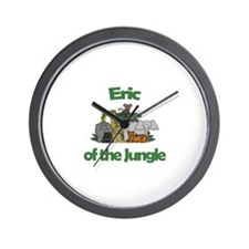 Eric of the Jungle  Wall Clock