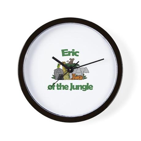 Eric of the Jungle Wall Clock