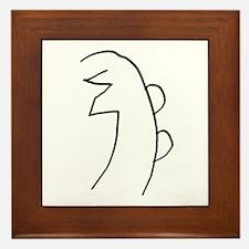 Se-he-ki (MRA Hand Drawn) Framed Tile