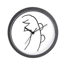 Se-he-ki (MRA Hand Drawn) Wall Clock