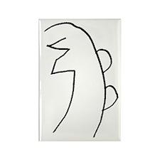 Se-he-ki (MRA Hand Drawn) Rectangle Magnet