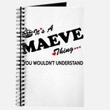 MAEVE thing, you wouldn't understand Journal