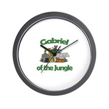 Gabriel of the Jungle  Wall Clock