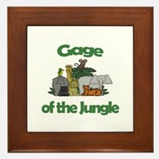 Gage of the Jungle  Framed Tile