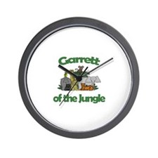 Garrett of the Jungle  Wall Clock