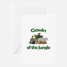 Gavin of the Jungle Greeting Card