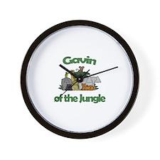 Gavin of the Jungle  Wall Clock
