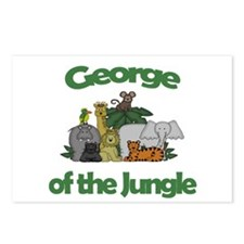 George of the Jungle  Postcards (Package of 8)