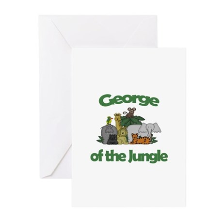 George of the Jungle Greeting Cards (Pk of 10)