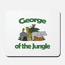 George of the Jungle Mousepad