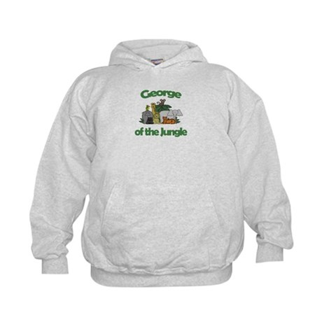 George of the Jungle Kids Hoodie
