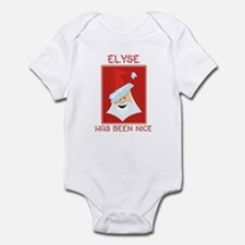 ELYSE has been nice Infant Bodysuit